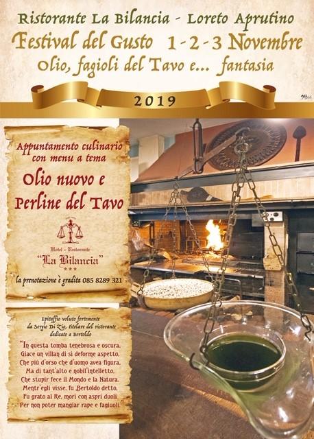Festival del gusto 1,2,3 Novembre